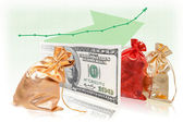 The best business success formula commodity money commodity — Stock Photo