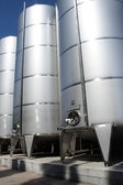 Stainless tanks — Stock Photo