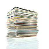 Postcards stack. — Stock Photo
