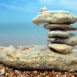 Stock Photo: Balanced stones