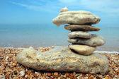 сбалансированный камни — Стоковое фото