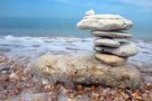 Balanced stones — Stock Photo