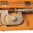 Stock Photo: Old micrometer