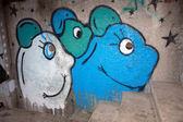 Graffiti_mouse — Foto Stock