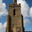 Church Tower with Sundial — Stock Photo #10282648
