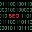 Seo on binary data — Stock Photo