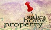 Sales home property — Stock Photo