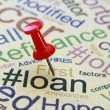 Stock Photo: Loan concept