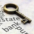 Estate and loan concept — Stock Photo