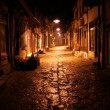 Old street at night — Stock Photo #8042020