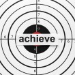 Achieve target — Stock Photo