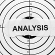 Stock Photo: Analysis target