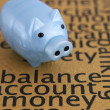 Stock Photo: Balance account money concept