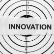 Royalty-Free Stock Photo: Innovation target