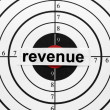 Stock Photo: Revenue target