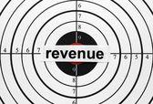 Revenue target — Stock Photo