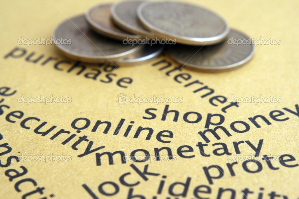 Shop online  Stock Photo #8080604