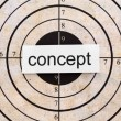 Concept target — Stock Photo