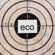 Stock Photo: Eco target