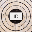 Royalty-Free Stock Photo: ID target