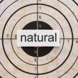 Royalty-Free Stock Photo: Natural target