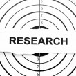 Research target — Stock Photo