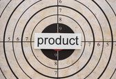 Product target — Stock Photo