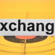 Exchange target - Stock Photo