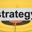 Strategy target — Stock Photo