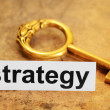Strategy concept — Stock Photo #8709230