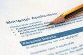 Loan application — Stock Photo