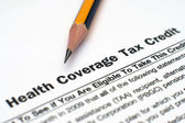 Health coverage tax credit — Stock Photo
