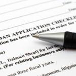 Loan application form — Stock Photo #9049364