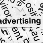 Advertising — Stock Photo