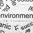 Environment word cloud — Stock Photo