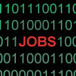 Jobs on binary data - Stock Photo