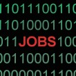 Stock Photo: Jobs on binary data