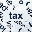 Tax word cloud — Stock Photo #9152082