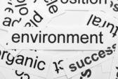 Environment word cloud — Stock Photo
