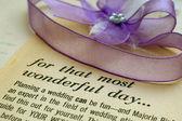 Wedding plan — Stock Photo