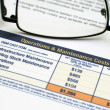 Stock Photo: Operating costs and revenues