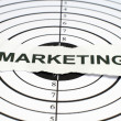 de marketing — Foto Stock