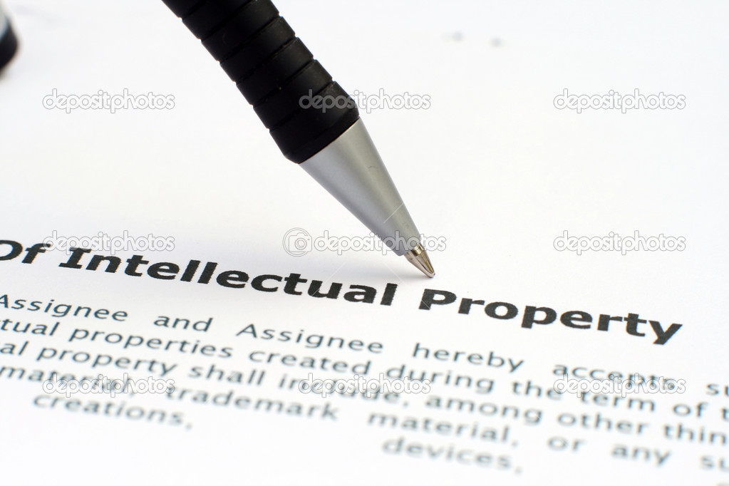 Intellectual property form — Stock Photo #9343251