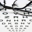 Eye chart — Stock Photo #9351998