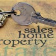 Sales home property concept — Stock Photo