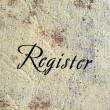 Stock Photo: Register