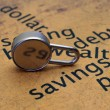 Stock Photo: Savings concept