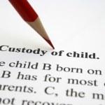 custodia del niño — Foto de Stock