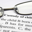 Custody of child — Foto de Stock