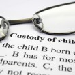 Custody of child - Stock Photo